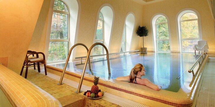 4* relax v Karlových Varoch: raňajky či polpenzia, wellness aj procedúry