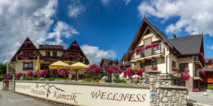 Čarovný pobyt s wellness v krásnom Rezorte Kamzík v samotnom srdci Ždiaru vrátane leta
