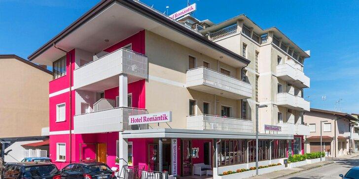 Dovolenka v talianskom letovisku Lignano Sabbiadoro: 3* hotel s raňajkami, 250 m od pláže