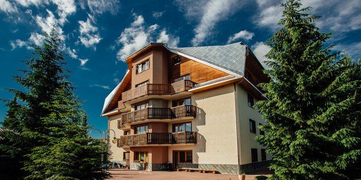 Priestorovo komfortné apartmány v Zuberci: v okolí hory i termálne pramene