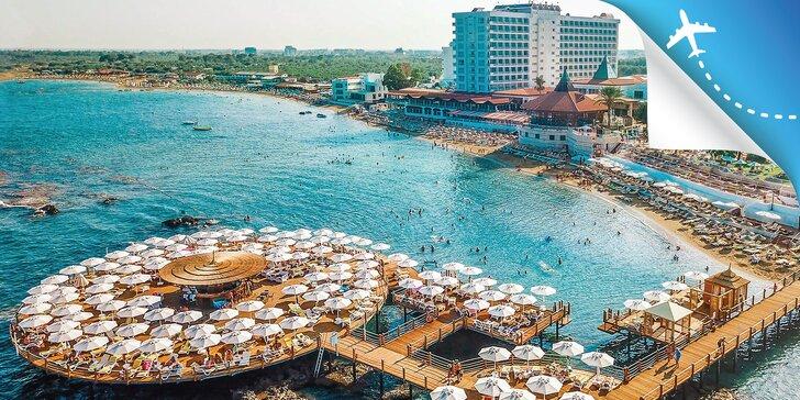 5* dovolenka na Cypre: hotel s ultra all inclusive, piesočnatá pláž, bazény i wellness