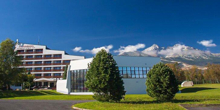Jedinečná dovolenka v srdci Vysokých Tatier: polpenzia, wellness a výhľad na Lomnický Štít