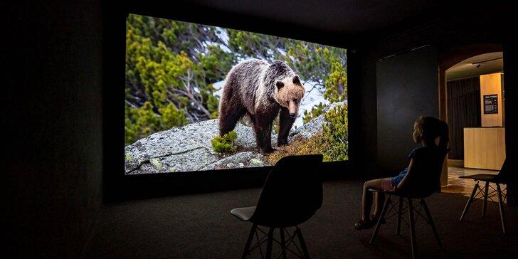 Vstupenky na zážitkovú prehliadku tatranskej prírody v digitálnej galérii TATRY VNÚTRI