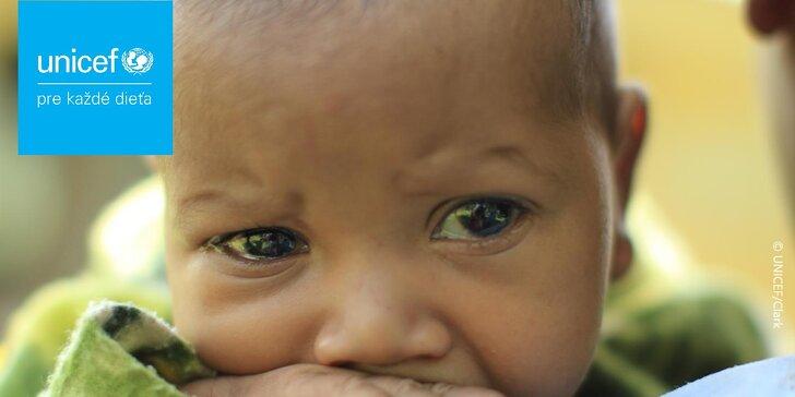 Váži len 42 g a zachraňuje detské životy - darujte deťom tento malý zázrak