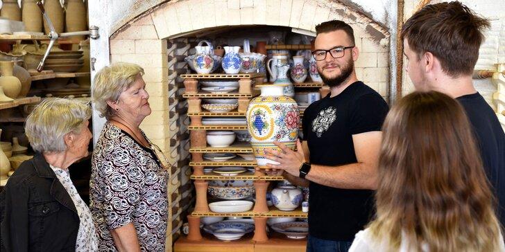 Vstupy na vzdelávaciu exkurziu v Slovenskej ľudovej Majolike