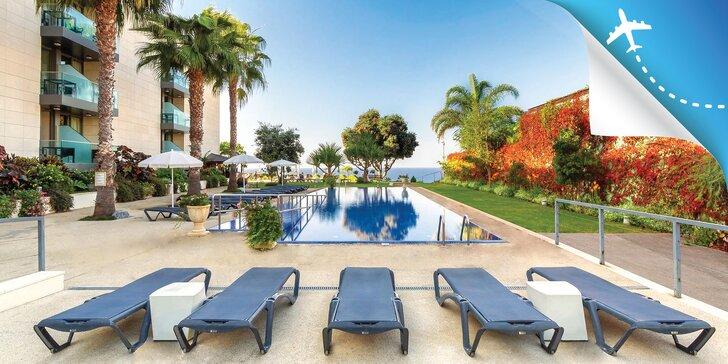 Dovolenka na ostrove Madeira: 4* hotel s raňajkami, bazénmi a výhľadom na more