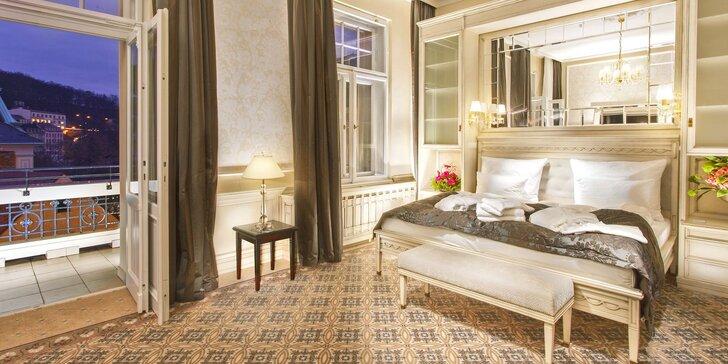 5* pobyt v Karlových Varoch: raňajky či polpenzia, neobmedzený wellness aj kúpeľné procedúry
