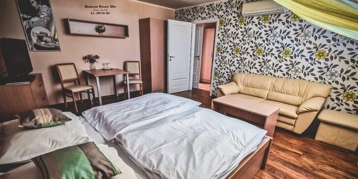 Romantika pre dvoch ako v cisárskej Viedni: vkusné dvojlôžkové izby a výborná kuchyňa