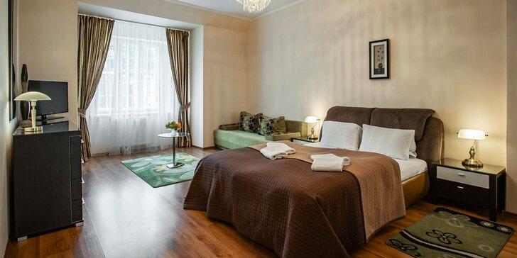 Dovolenka v centre Karlových Varov: apartmán s raňajkami aj kozmetické ošetrenie