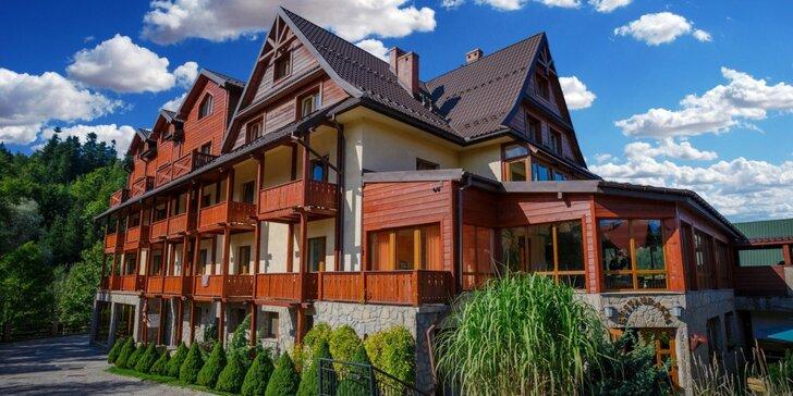 Wellness pobyt v poľských horách - raňajky alebo polpenzia a bohaté možnosti trávenia voľného času
