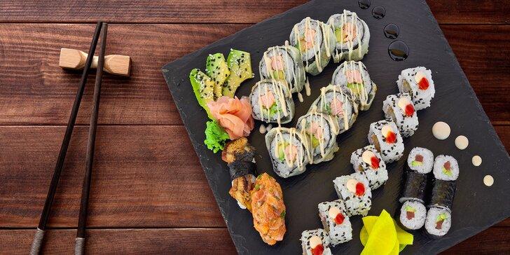 Degustačný sushi set pre 2 osoby – donáška v rámci Nitry zadarmo!