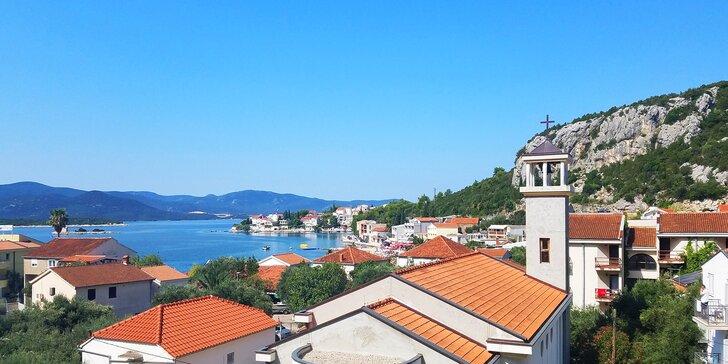 Dovolenka v Chorvátsku, šum Jadranu a apartmány 5 minút od pláže