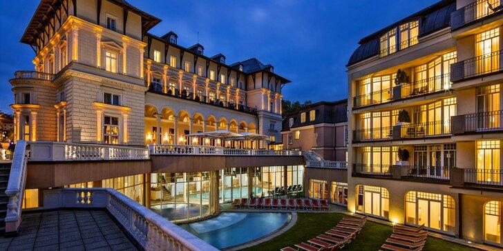 Novozrekonštruovaný 5* hotel v Mariánskych Lázňach: polpenzia, sauny, bazény aj kúpeľ
