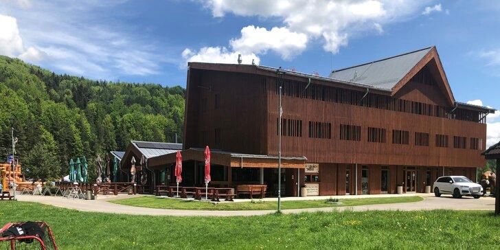 Aktívna rodinná dovolenka v nových apartmánoch Humno vo Valči s množstvom atrakcií v novom, úžasnom detskom parku YETI LAND