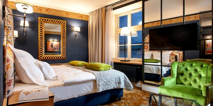 Magický pobyt v Krakove: 5* Balthazar Design Hotel s raňajkami