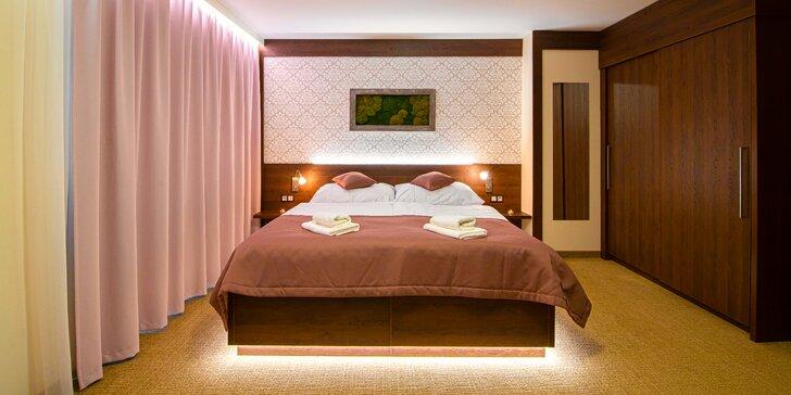 Úplne nový 4* hotel vo Vršatskom podhradí: wellness pobyt s polpenziou