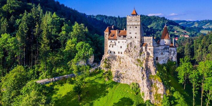 Záhadná a nepoznaná Transylvánia - objavte Draculov hrad