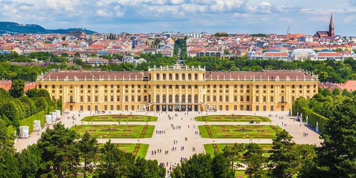 Nedeľný výlet do Viedne: čarovný zámok Schönbrunn, ZOO aj labyrint