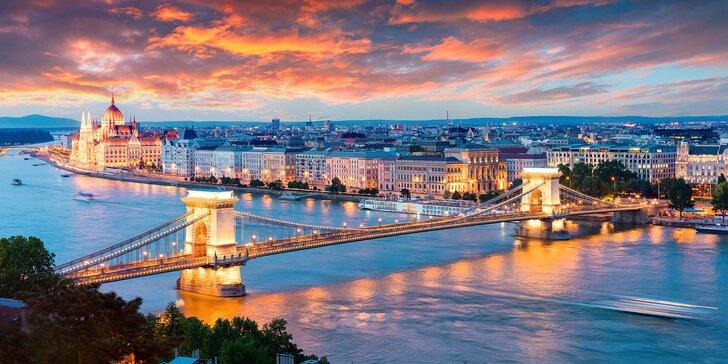 Dovolenka v Budapešti: Príjemný pobyt s raňajkami v hoteli Sissi Wing *** KAMPAŇ+