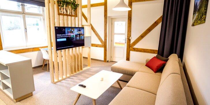 Pobyt v srdci Vysokých Tatier: nový apartmán s plne vybavenou kuchyňou, atrakcie pre celú rodinu