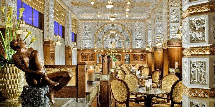 Luxusný hotel Art Deco Imperial: izba Deluxe a raňajky u Zdeňka Pohlreicha