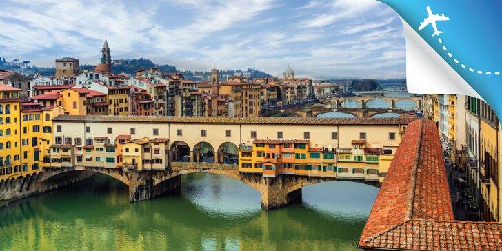 Objavte krásy Toskánska - historické mestá Bologne, Florencia, Lucca a šikmá veža v Pise