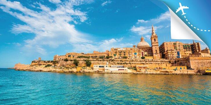 Čarokrásna Malta a malebné priľahlé ostrovčeky: 5-dňový poznávací zájazd