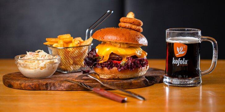 Domáci hovädzí burger slovenskej kvality v Chuťovke