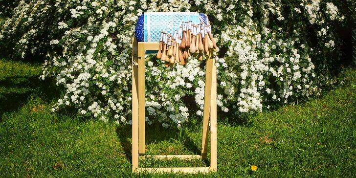 Objavte tradičné paličkovanie, vyrobte si Kvet života alebo kabelku