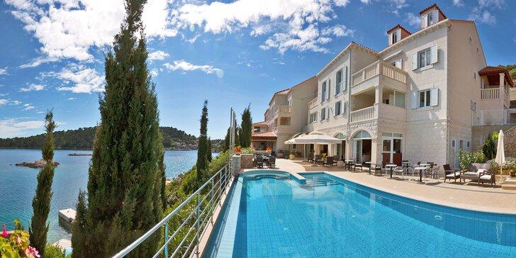 Dovolenka na chorvátskom ostrove Šipan: hotel so súkromnou plážou, bazénom a farmou