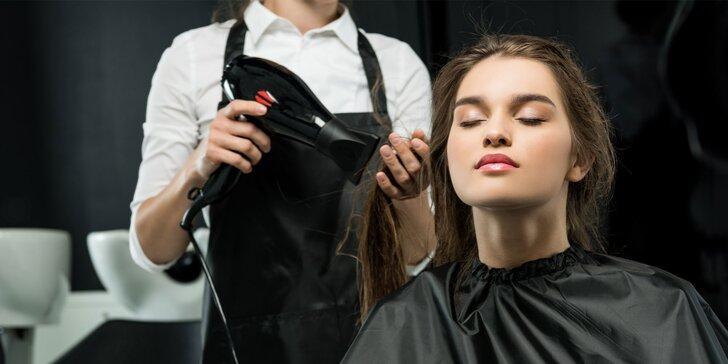 Dámsky aj pánsky strih, regeneračná kúra pre všetky dĺžky vlasov