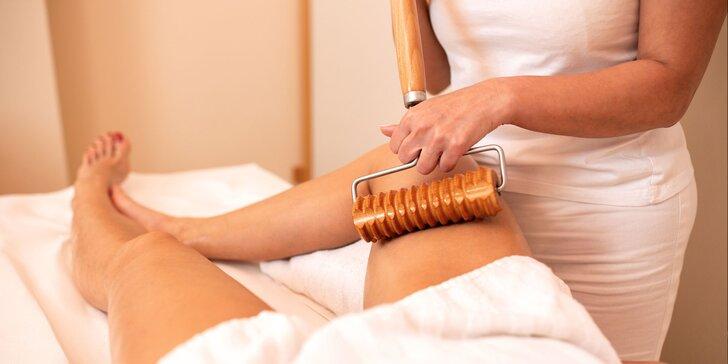 Zbavte sa celulitídy vďaka špeciálnej masáži valčekmi