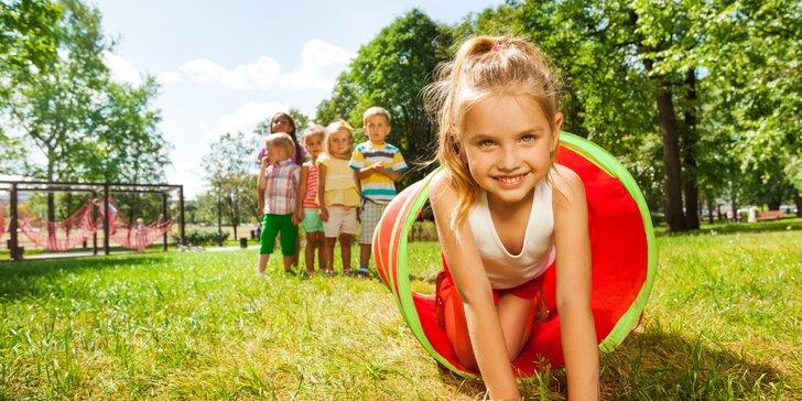 Detský pobytový tábor v srdci dunajskej prírody plnej dobrodružstva