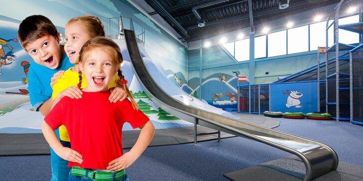 Vstup pre deti a dospelých do športovo-zábavného centra KidsHouse