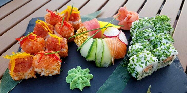 Oslávte medzinárodný deň sushi degustačným menu v reštaurácii SUSHIHANIL