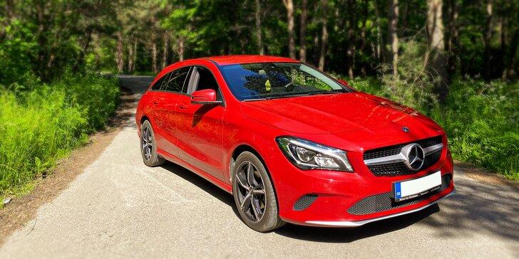 Zažite jazdu snov na parádnom Mercedese – prenájom vozidla na 1 až 7 dní