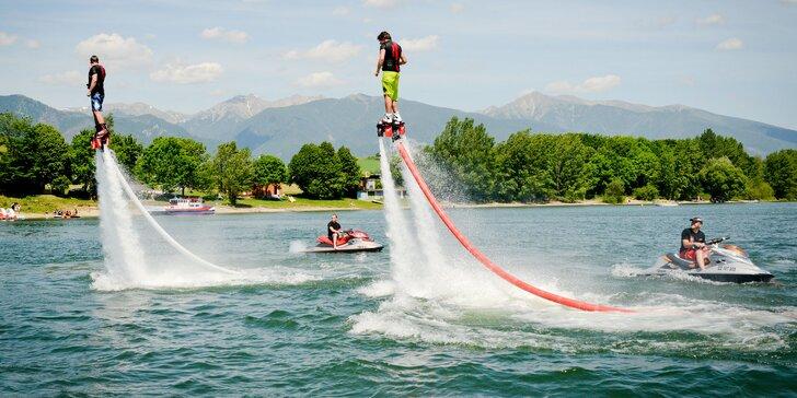 Wake, ski, kneeboard, flyboard, nafukovací banán alebo koleso. Vybláznite sa na Mare!