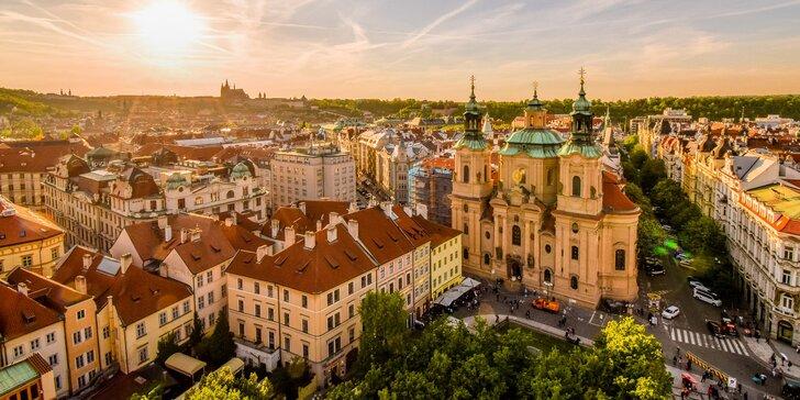 Za krásami stovežatej Prahy: 4* hotel 10 min. od historického centra, raňajky