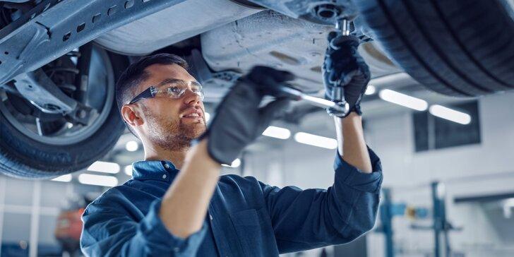 Výmena brzdovej kvapaliny, platničiek a kotúčov alebo diagnostika či generálna oprava vozidla