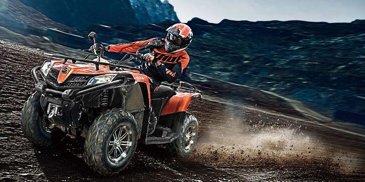 Zažite nadupanú adrenalínovú jazdu na štvorkolkách!