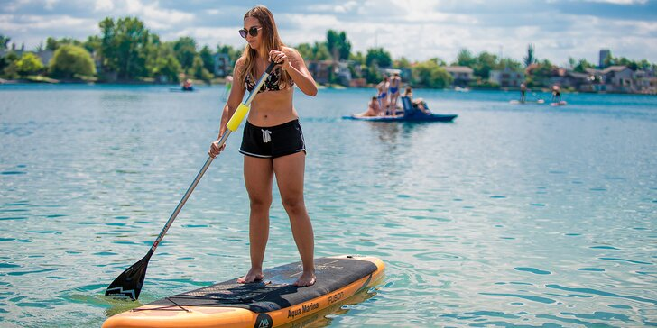 Požičajte si paddleboard a otestujte vodu aj svoje zručnosti!