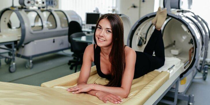 Vyškúšajte liečebné účinky hyperbarickej terapie kyslíkom na vlastnej koži