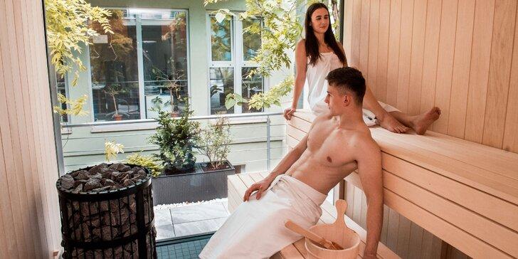 Novootvorená súkromná SMART sauna na terase v centre Bratislavy pre 2 osoby