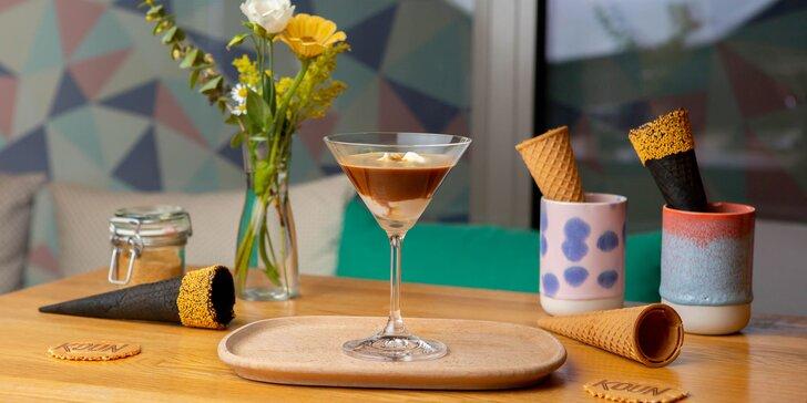 Affogato: lahodná káva s gelatom v gelaterii KOUN alebo poukážky na zmrzlinu