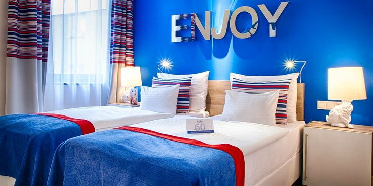 4* hotel v centre Budapešti neďaleko termálnych kúpeľov: moderné izby a raňajky