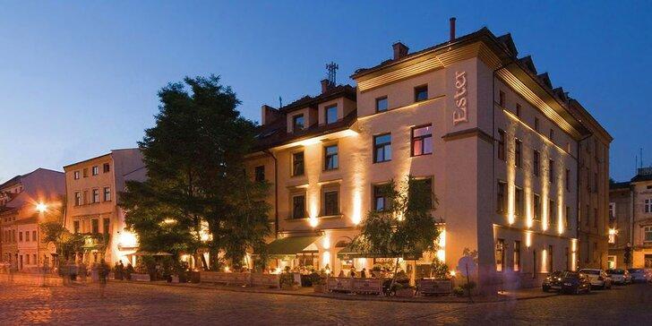 Spoznajte Krakov: 4* ubytovanie v centre historickej štvrti Kazimierz s raňajkami
