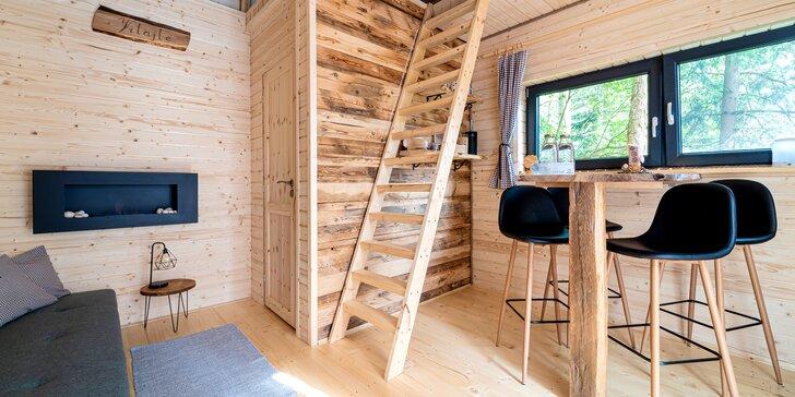 """Jedinečné a zážitkové ubytovanie v stromodome """"Treehousepinea"""" s raňajkami v piknikovom košíku"""