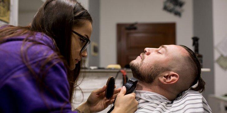 Pánsky strih a úprava Brady v Barber Shope NY priamo v centre Košic