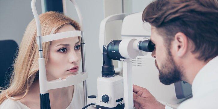 Dioptrické sklá, vyšetrenie zraku očným lekárom a zľava na rámy v IDEALOPTIK