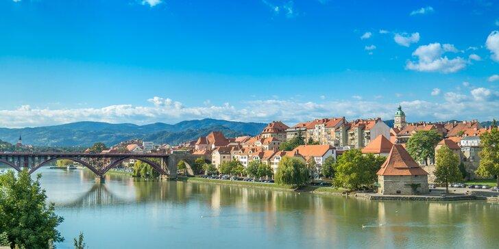 Na dovolenku do Slovinska: pobyt v centre Mariboru s raňajkami a zapožičaním bicyklov